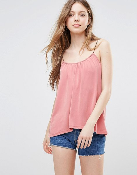 "Vero Moda Swing Cami Top in pink - """"Top by Vero Moda, Soft-touch jersey, Scoop neck,..."