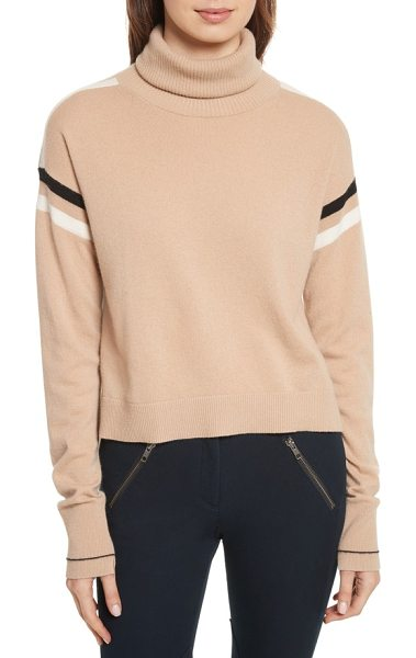 VERONICA BEARD canter cashmere turtleneck - Sporty meets stylish on this relaxed cashmere sweater...