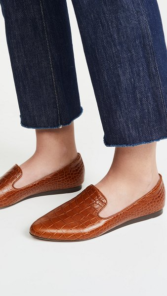 Veronica Beard griffin loafers in honey