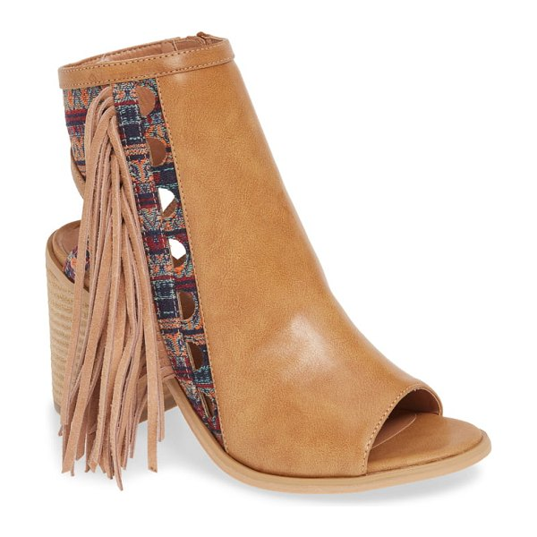 Very Volatile kapalua fringe sandal in brown