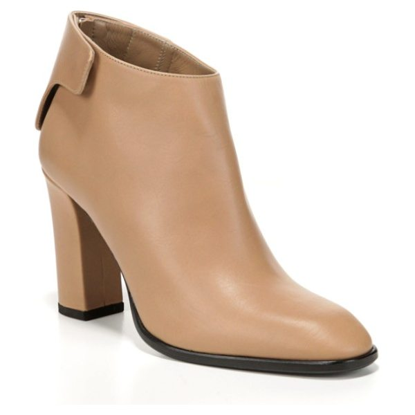 Via Spiga aston ankle boot in desert leather - Smooth Italian leather heightens the refined style of a...