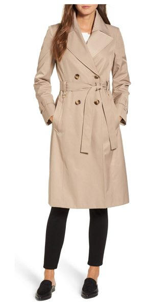 VIA SPIGA double breasted trench coat - The season-spanning mainstay of every outerwear closet,...