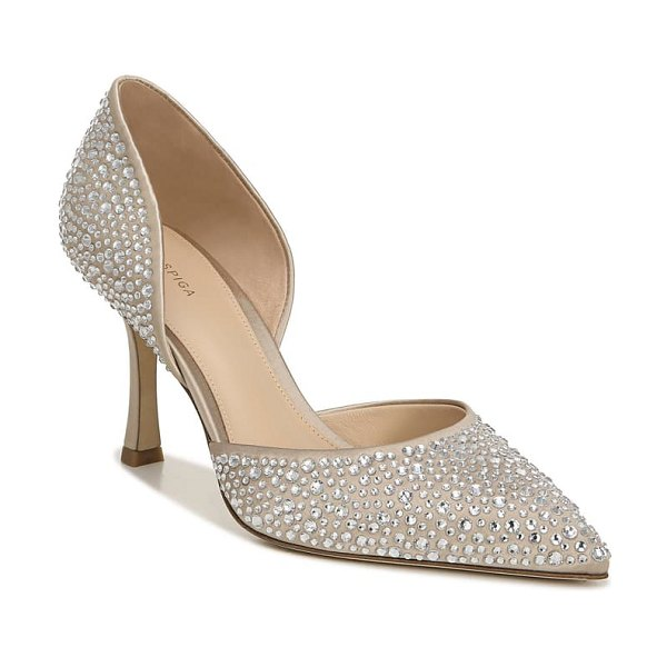 Via Spiga ondine pointed toe pump in beige