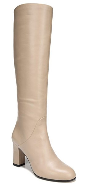 Via Spiga soho knee high boot in desert beige leather - A buttery-soft Italian-leather boot elevates your 9-5...