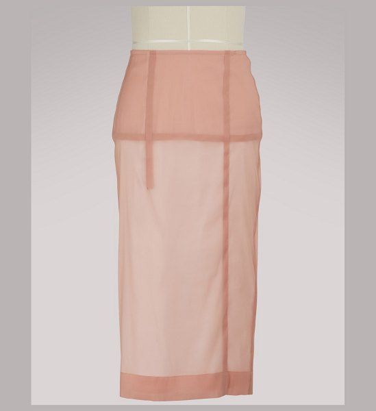 Victoria Beckham Pencil skirt in dusty pink - If Victoria Beckham sprinkles her collections with...
