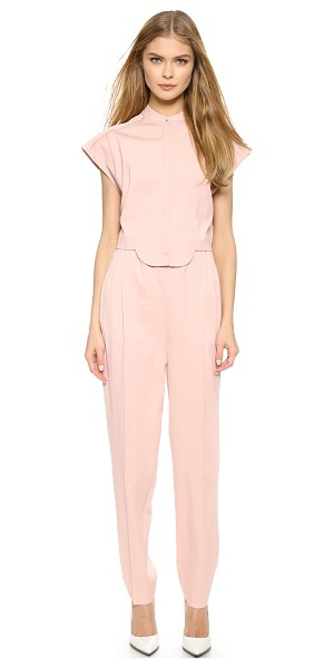 Viktor & Rolf Short sleeve jumpsuit in flesh - A charming VIKTOR & ROLF jumpsuit with a scalloped,...