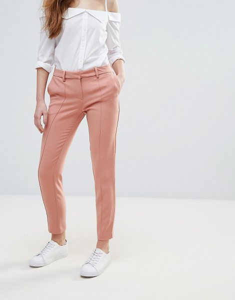 "Vila Cigarette Pant in pink - """"Cigarette pants by Vila, Woven fabric, Concealed fly,..."