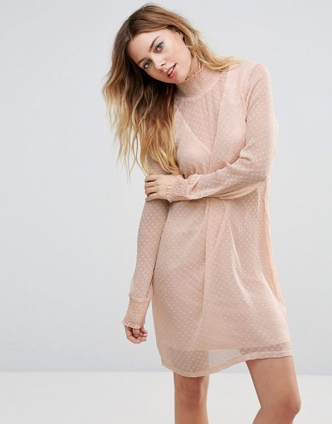"""Vila Dress in pink - """"""""Casual dress by Vila, Textured woven fabric,..."""