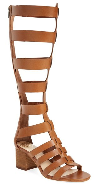 Vince Camuto brenton sandal in toffee leather