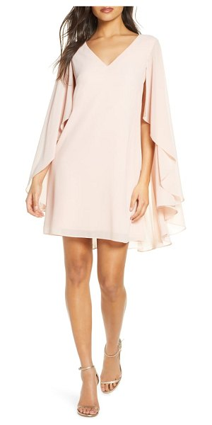 Vince Camuto cape back shift dress in pink