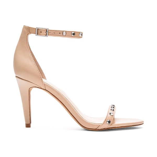 Vince Camuto Cassandy Heels in beige - Leather upper with man made sole. Ankle strap with...