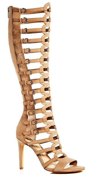 Vince Camuto Chesta Caged Gladiator Sandals in beige - Vince Camuto Chesta Caged Gladiator Sandals-Shoes