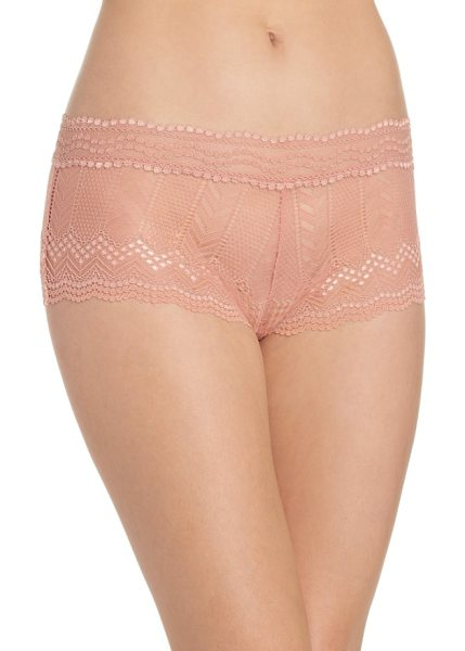 Vince Camuto colette boyshorts in rose dawn