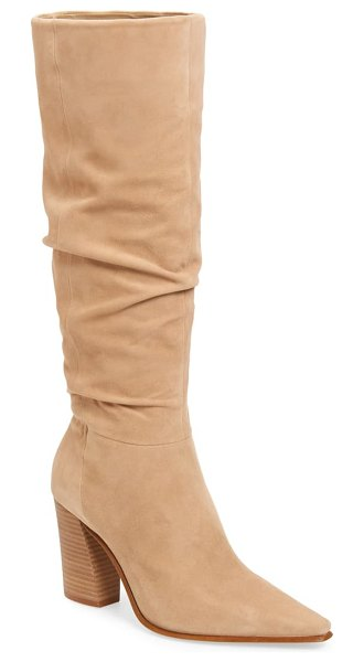 Vince Camuto derika leather boot in brown
