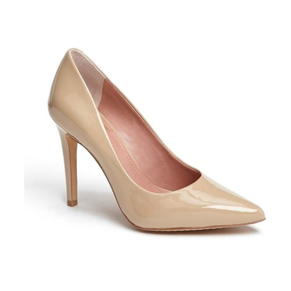 Vince Camuto kain pump in blush patent