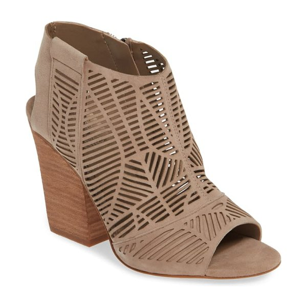 Vince Camuto kimora cutout shield sandal in beige (nordstrom exclusive)
