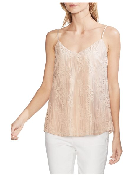 Vince Camuto lace camisole in pink