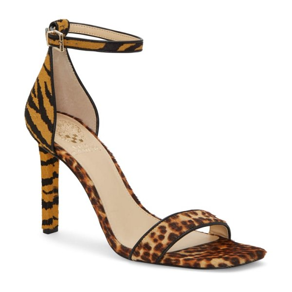 Vince Camuto lauralie ankle strap sandal in brown