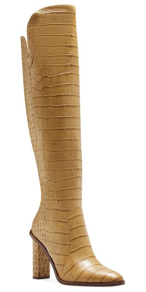 Vince Camuto palley knee high boot in beige