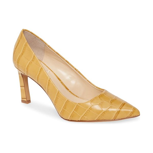 Vince Camuto retsie pointed toe pump in brown