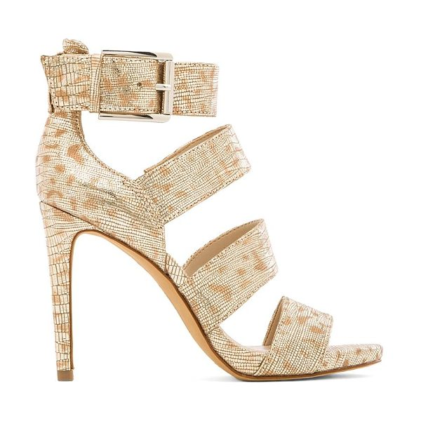 Vince Camuto Rittal heel in metallic gold