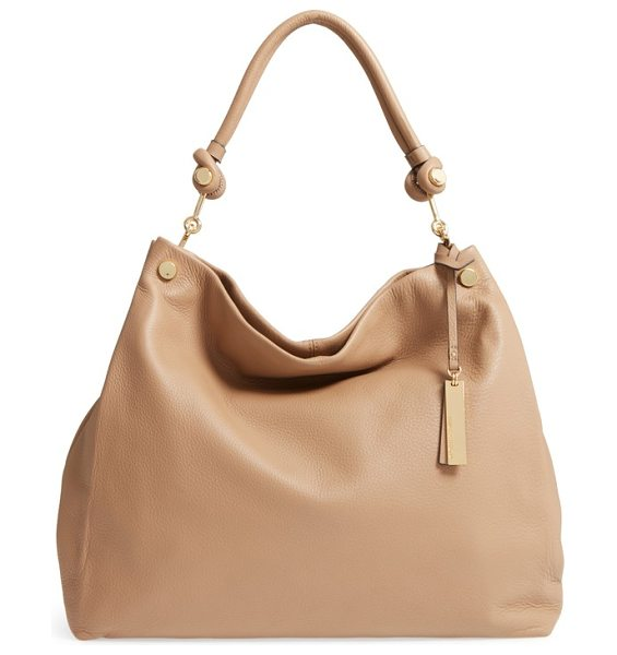 Vince Camuto 'ruell' hobo in cappuccino - A perfectly slouched hobo bag with a crisp center seam...