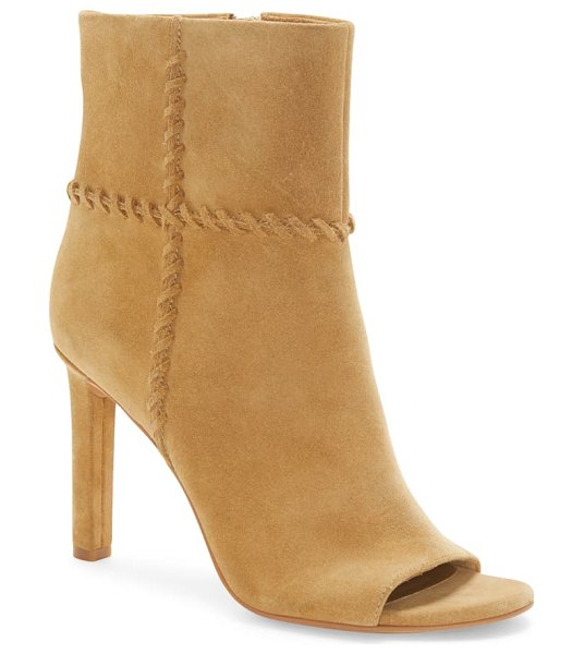 Vince Camuto sashane open toe boot in brown