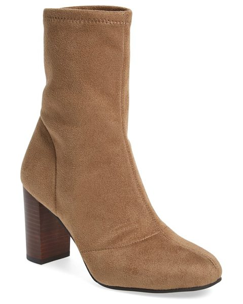 Vince Camuto 'sendra' bootie in khaki suede