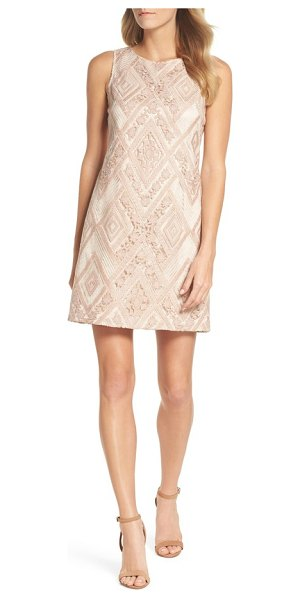 5be3ce7be432 Vince Camuto Sequin Embroidered Sheath Dress