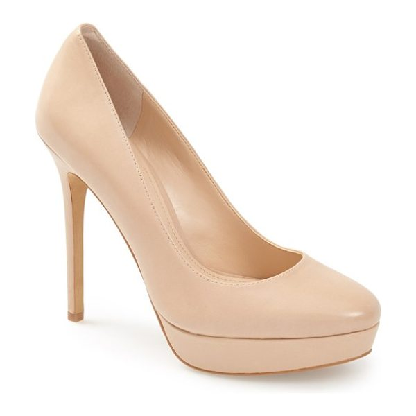 Vince Camuto niomi pump in beige - The ultimate in versatile style and an essential for any...