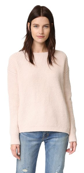 VINCE Crew Neck Sweater - A boxy Vince sweater in a super soft cashmere blend....