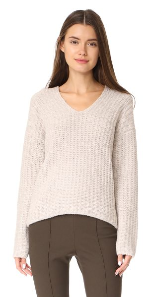 VINCE deep v neck pullover - A slouchy Vince sweater in a cozy cashmere blend. V...