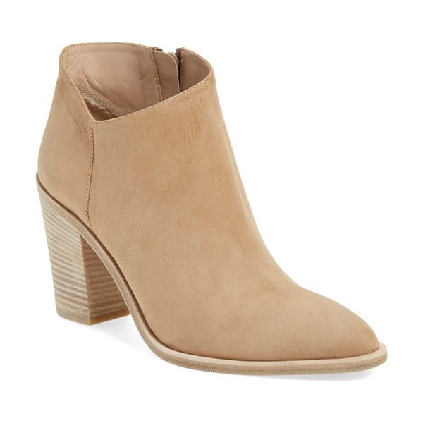 VINCE 'easton' bootie - A chic ankle bootie with a hint of Western flair gets a...