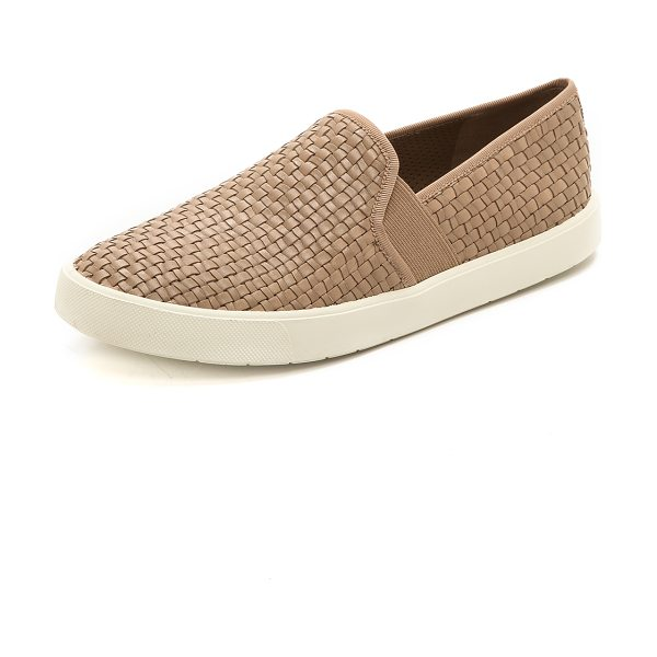 VINCE Preston slip on sneakers - Casual Vince slip on sneakers, styled with a woven...