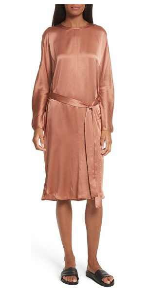 VINCE seam front silk dress - Drape yourself in this luxurious silk shift, styled with...