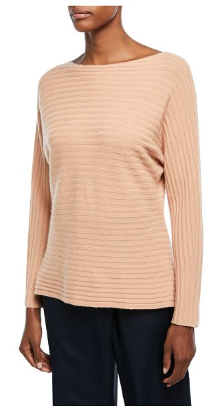 Vince Self-Tie Back Dolman Sweater in blush