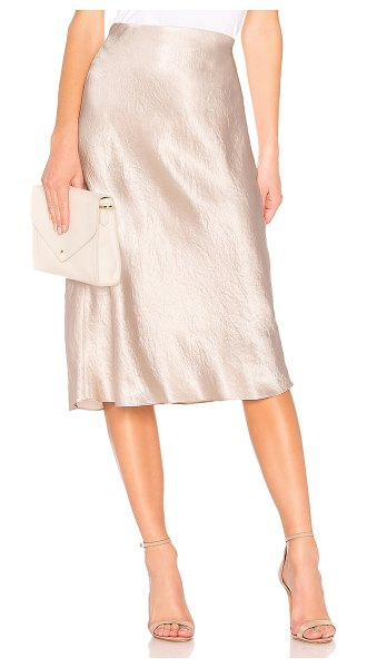 Vince slip skirt in champagne