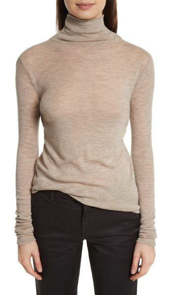 Vince wool turtleneck in dark camel - Destined for heavy rotation in your fall closet-but...