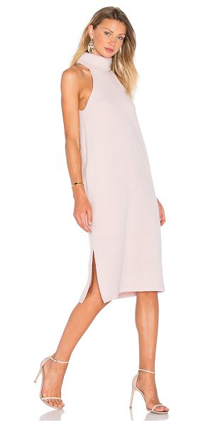 "VIVIAN CHAN Paley Dress in rose - ""Wool blend. Dry clean only. Fully lined. Knit fabric...."