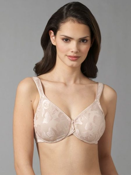 Wacoal awareness underwire bra in naturalnude - Full-coverage style in a seamless silhouette is both...