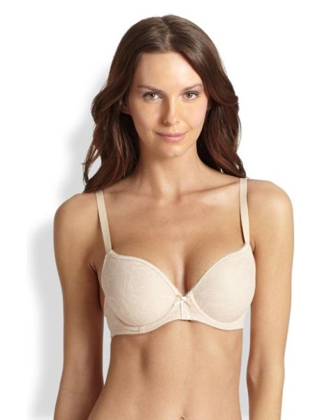 Wacoal Contour lace finesse bra in natural