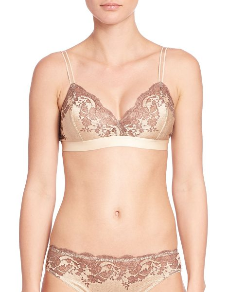 WACOAL lace affair soft cup bra - From the Lace Affair Collection. Soft bralette with luxe...