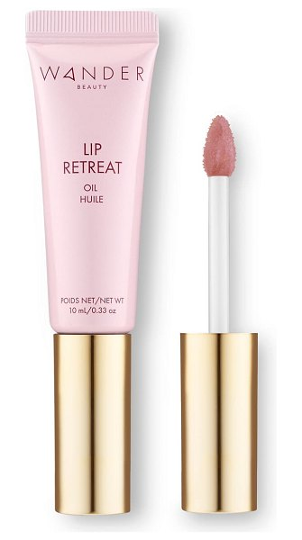 WANDER BEAUTY lip retreat tinted oil in skinny dip (nude)