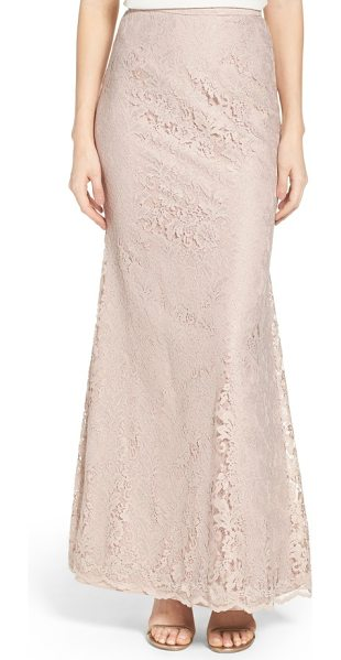Watters esme fit-and-flare lace skirt in blush - Easy elegance meets wedding-day glamour in this...