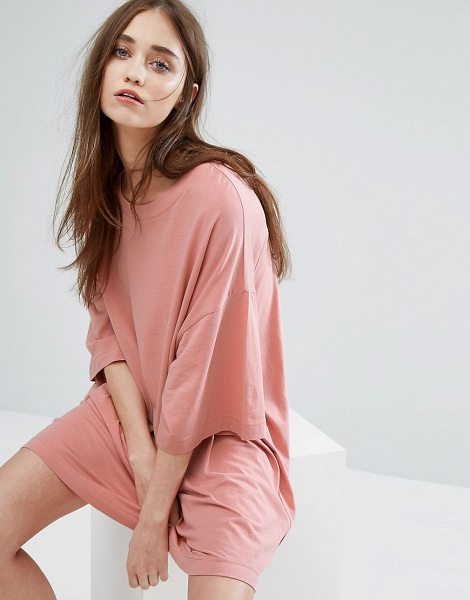 "WEEKDAY Huge T-Shirt Dress - """"Dress by Weekday, Cotton jersey, Crew neck, Dropped..."