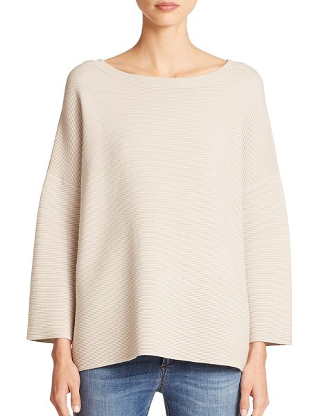 Weekend Max Mara Kirsch sweater in sand - Dropped shoulders and a slouchy fit lend a downtown vibe...