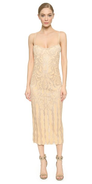 WES GORDON natalia gown - Embroidery and delicate mesh lend an airy feel to this...