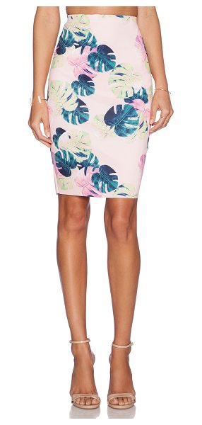 "Whitney Eve Manfern Skirt in pink - Cotton blend. Skirt measures approx 22"""" in length...."