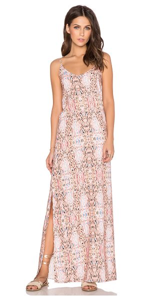 "Whitney Eve Sinai dress in beige - Poly blend. Neckline to hem measures approx 54"""" in..."