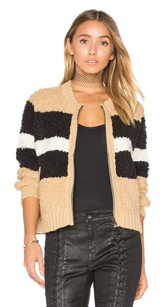 Wildfox Disco Stripe Margot Sweater in brown - 43% acrylic 25% wool 20% nylon 7% rayon 5% alpaca. Dry...